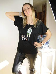 ADuży zakres górnej kobiet na chłodnych materiałów z cute unikalnych wzorów z Alice Brands. Dodaj do ulubionych i kolejność z tych stron: www.etsy.com/shop/AliceBrands. www.alicebrands.co.uk #alicebrands