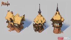 ArtStation - Albion Online : Swamp 2d Building concepts, Airborn Studios