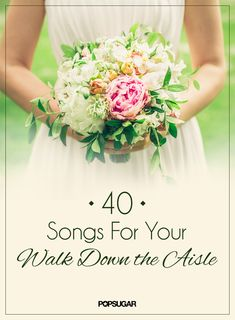 Wedding Music Ideas: 40 Songs For Your Walk Down the Aisle. https://www.facebook.com/pages/Casey-Anderson-Wedding-Officiant/696124967113443
