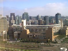 Petco Park in San Diego; working my way to all the major league baseball stadiums on my work travel.  Caught a great Padres game.