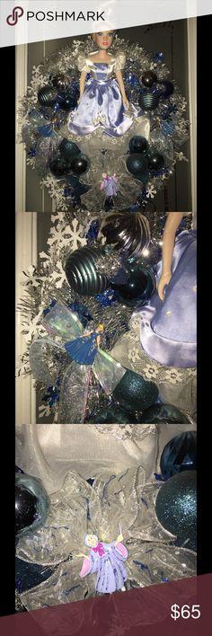 Disney Cinderella Handmade Christmas Wreath All Handmade Other
