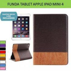e8bb2043b48 Funda retro vintage tipo cartera para iPad Mini 4: Fundas tablets iPad -  Tienda online YOUGAMETRONICA