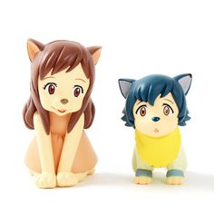 picture of Ultra Detail Figure No. 239-240: Wolf Children - Ame & Yuki 1