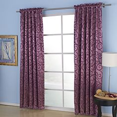 (Two Panels) Aspire Embossed Blackout Thermal Curtains – USD $ 84.99
