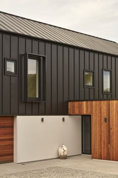 Where Beauty Meets Function.   Next-generation architecture. Setting the standard for energy efficiency and passive house design. Passive House Design, Tiny House Design, Steel Frame House, Steel House, Green Siding, Modern Barn House, Steel Barns, Container House Plans, Container Homes
