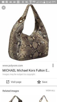 20fd647957 Michael Kors Fulton EW Python