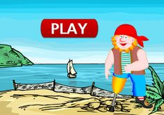 Rounding Numbers Pirate Game is an exciting math activity that offers students a fun alternative to practice rounding whole numbers to the nearest ten, hundred, or thousand.To find the hidden treasure, you must answer ALL questions correctly. Are you up to the challange, pirate?