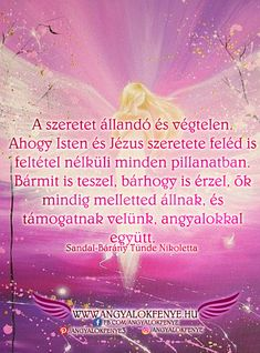Angyali üzenet: A szeretet állandó és végtelen - Angyalok fénye Hit, Angels, Messages, Movies, Movie Posters, Film Poster, Films, Popcorn Posters