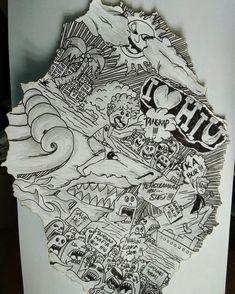I Love Hiu #doodleartindonesia #doodleart #doodleartbandung #doodleartbogor