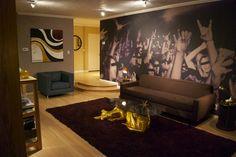 "Antonio Ballatore | Custom mural, printed on Matte Vinyl Type II wallcovering substrate.  As Seen on HGTV's ""The Antonio Treatment"".  Designer : Antonio Ballatore"