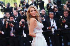 Pin for Later: On ne se lasse pas de ces sublimes photos du festival de Cannes !  Blake Lively a coupé le souffle du monde entier à l'avant-première de Mr. Turner.
