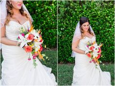 Bride at her Tropical Beach Wedding | South Florida Wedding Photographer | Crystal Bolin Photography (36)