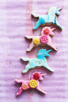 One Unicorn Cookie