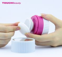 TOUCHBeauty electric sonic facial cleanser AS-1281 flexible pivoting head fits the face contour perfectly with built-in mirror