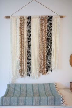 How to make a simple boho yarn wall art