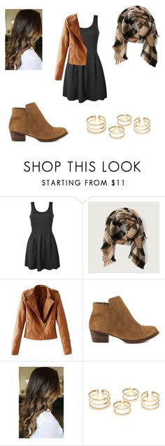 """Pretty brown"" by sagedancer on Polyvore featuring Ally Fashion, Abercrombie & Fitch, WithChic, Jessica Simpson, women's clothing, women's fashion, women, female, woman and misses"