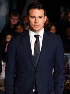 Channing Tatum  Channing plays a stripper in his upcoming movie, Magic Mike. We're praying they'll release it in 3D.