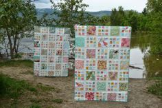 Grace and Favour: BEACH HOUSE QUILTS--A FINISH