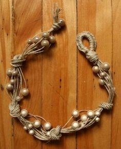 Handmade jewelry from A to Z » Blog Archive » How to Make Cord Necklace with Beads: Easy Tutorial