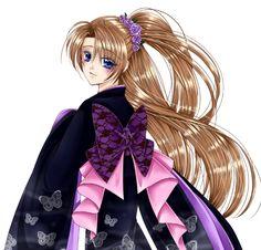 Kimono Manga - From JennyLiz - https://www.facebook.com/jennylizmanga/