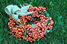 """#autumn"""" # #wreath# #DIY# http://terkomponalokreativ.blog.hu/2016/12/25/oszi_szinpompa_a_kertbol"""