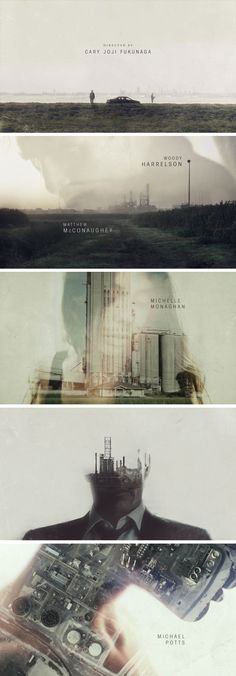 Opening sequence for True Detective by Antibody