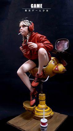 [Game] 東京 ゲ ー ム 少女 in 2020 . [Game] 東京 ゲ ー ム 少女 in 2020 Character Modeling, 3d Character, Character Concept, Concept Art, 3d Modeling, Pose Reference Photo, Art Reference, Anatomy Reference, Action Posen