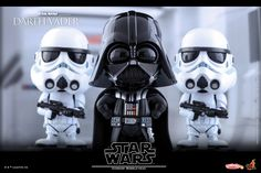 Star Wars Darth Vader Cosbaby Bobble-Head Coming Soon