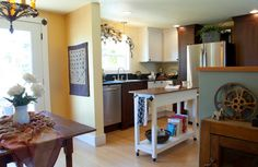 Interior Designer Remodels Double Wide Mobile HOme Kitchen