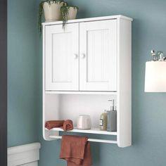Rebrilliant 19.19 W x 25.63 H Wall Mounted Cabinet #BathroomCabinetFreestanding