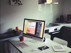 kitchen workspace by Patryk Sobczak