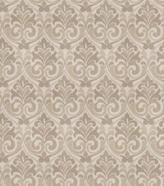 Eaton Square Print Fabric-Dorm/Natural