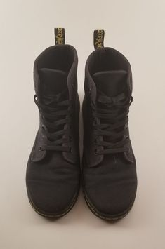 Women Dr Martens Air Wair Shoreditch Black Canvas 7 eye Lace Up Ankle Boot  US 7  fashion  clothing  shoes  accessories  womensshoes  boots (ebay link) dd0e11e05985