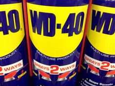 Você precisa ter WD-40 em casa! É super prático!