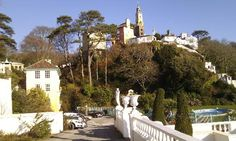 Portmeirion Village: The Village from the Hotel