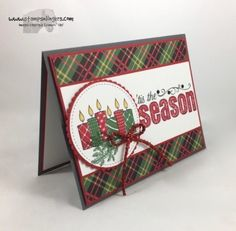 Stampin' Up! Merry Patterns 'Tis the Season | Stamps – n - Lingers