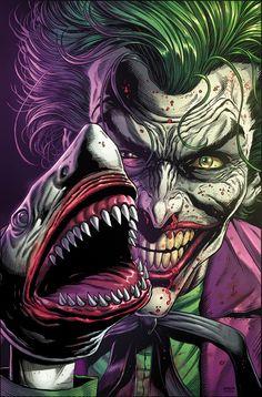 Joker Cartoon, Joker Dc Comics, Joker Comic, Joker Batman, Joker Art, Cartoon Art, Superman, 3 Jokers, Three Jokers