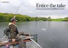 Russel Owen - Ex world champion fly fisher on how to entice almost all the fish in the lake. Fishing Magazines, Water Sports, Trout, Fisher, Champion, World, Brown Trout, The World, Sea Sports