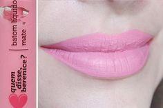 #batom #liquido #matte #qdb #quemdisseberenice #bere #liquid #lipstick #pink #rosa #rose #roselili