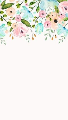 Ideas For Wallpaper Floral Watercolor Beautiful Flower Backgrounds, Wallpaper Backgrounds, White Wallpaper, Beautiful Wallpaper, Trendy Wallpaper, Phone Backgrounds, Iphone Hintegründe, Picture Sharing, Screen Wallpaper