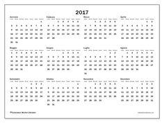 Gratis! Calendari per  2017 da stampare