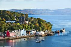 You simply have to love a village that gave its name to a Womble. Tobermory…