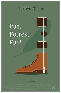 Forrest Gump Movie Poster Series