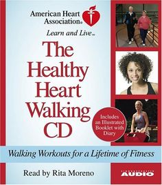 The Healthy Heart Walking CD: Walking Workouts For A Lifetime Of Fitness $11.97