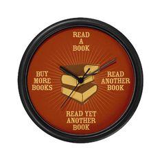 It's book o'clock!
