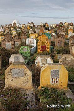 Salé - Cemetery . Morocco