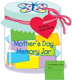 Mother's Day Memory Jar, Lesson Plans - The Mailbox