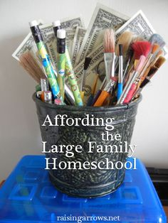 Ideas to affford homeschooling several children...because it gets super expensive and Chris and I want at the very least 5 kids.