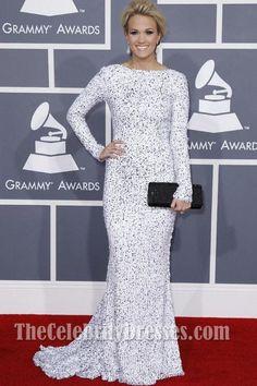 Carrie Underwood Prom Dress Grammy Awards 2012 Red Carpet - TheCelebrityDresses