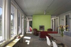 grey and red | light green and red color palette for modern interior design and decor
